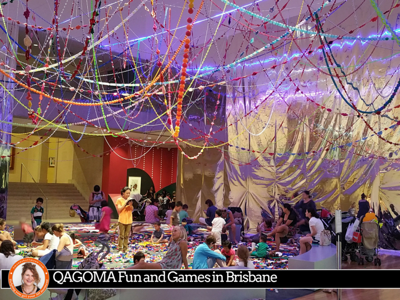 #QAGOMA Fun and Games in Brisbane