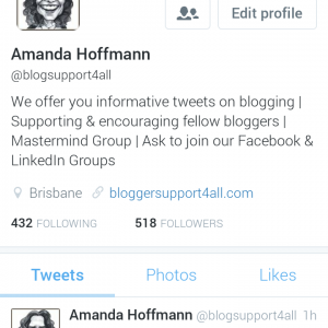 Old profile now @AmandaGHoffmann