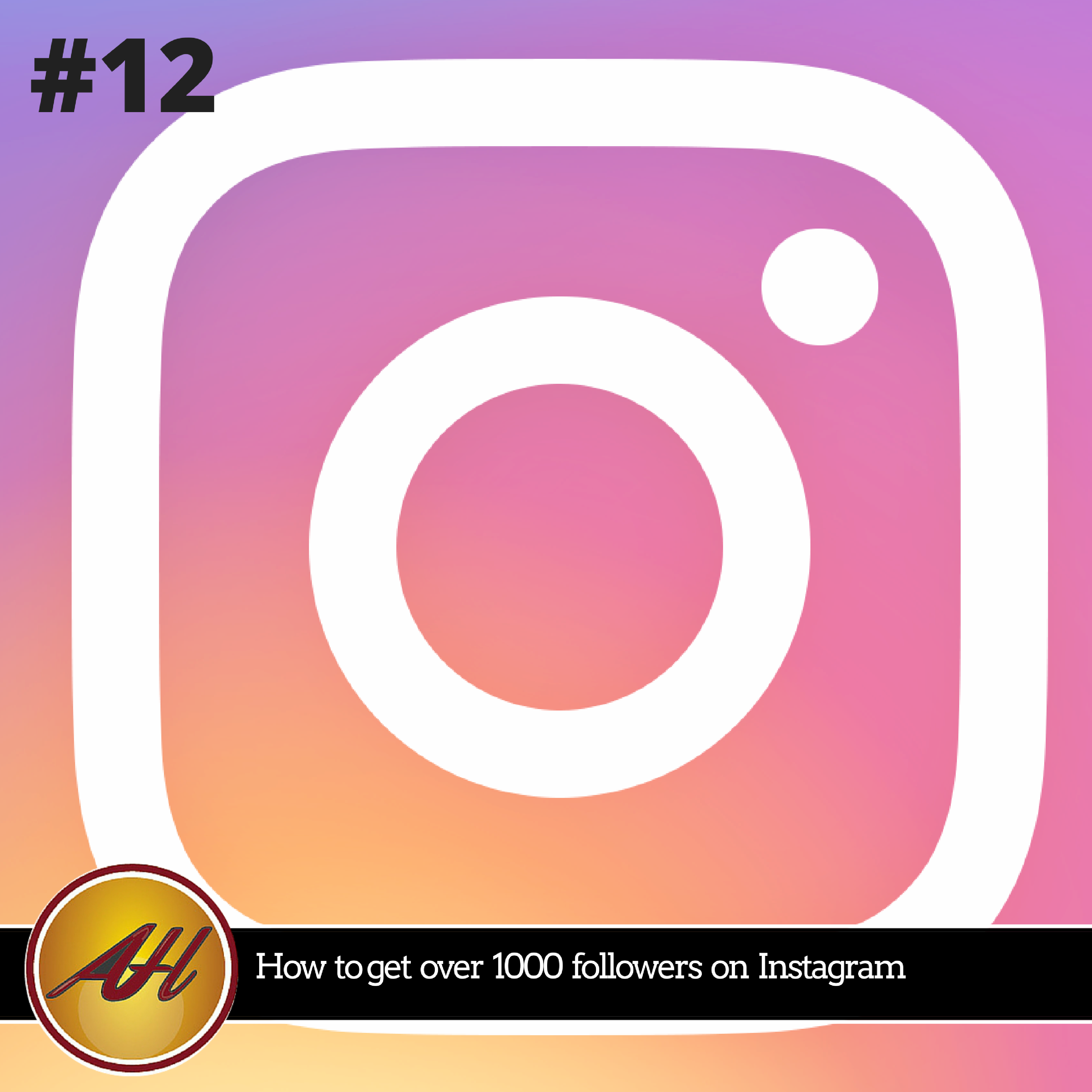 Episode 12 How to get over 1000 followers on Instagram by Amanda Hoffmann