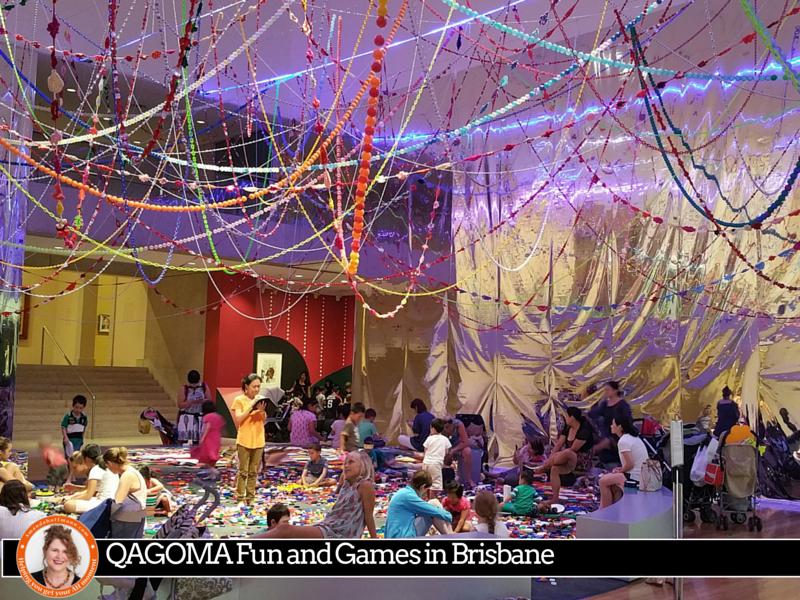 #QAGOMA Fun and Games in Brisbane